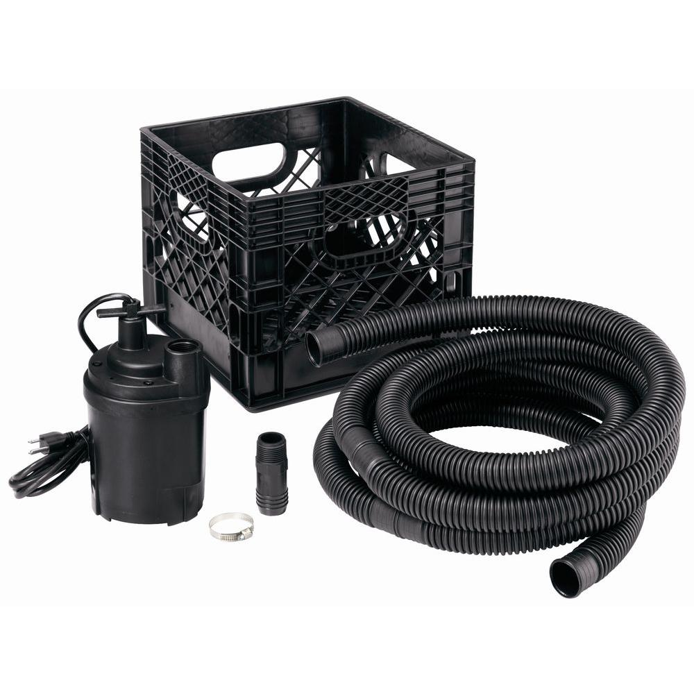 null 1/4 HP All-In-One Utility Pump Kit