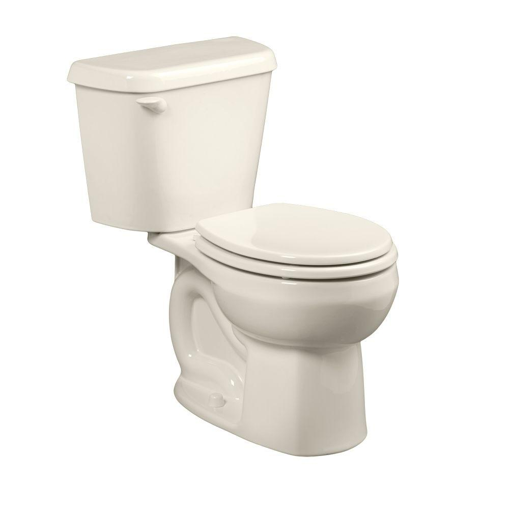 Colony 2-piece 1.6 GPF Round Toilet in Linen