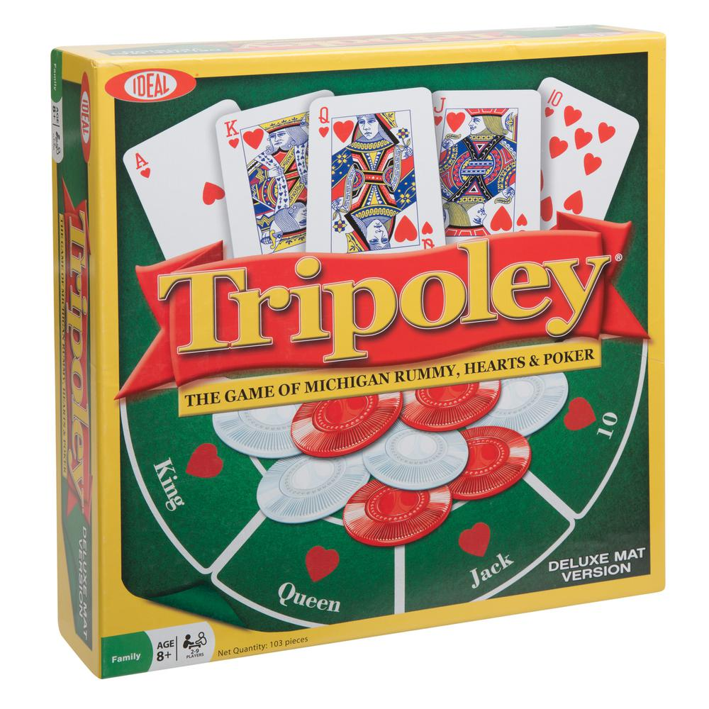 Tripoley Deluxe Mat Edition Card Game Sale $19.46 SKU: 300892968 ID: 0C1241TL UPC: 26608001249 :