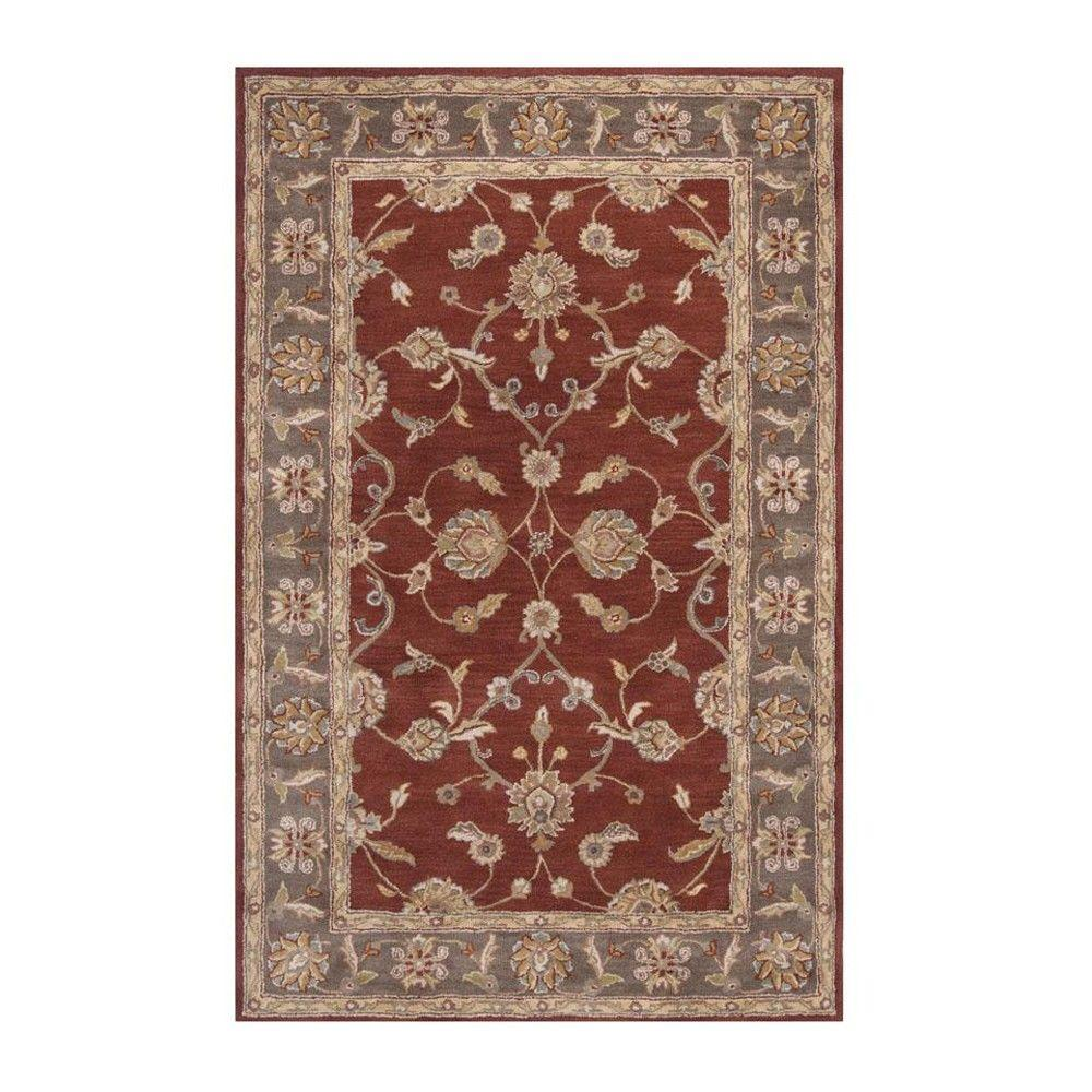 Home Decorators Collection Wentworth Rust 5 ft. x 8 ft. Area Rug
