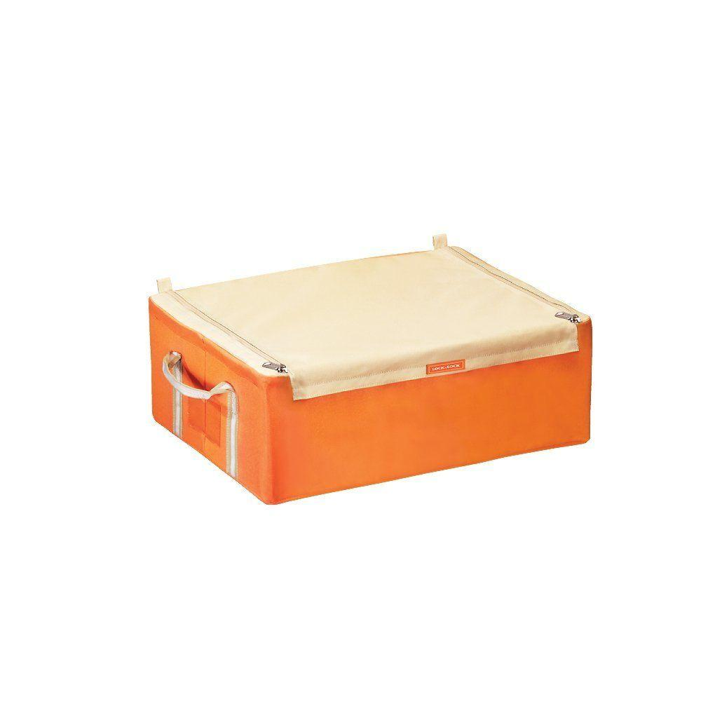 Lock and Lock Living Box with Straight Zipper in Orange-DISCONTINUED