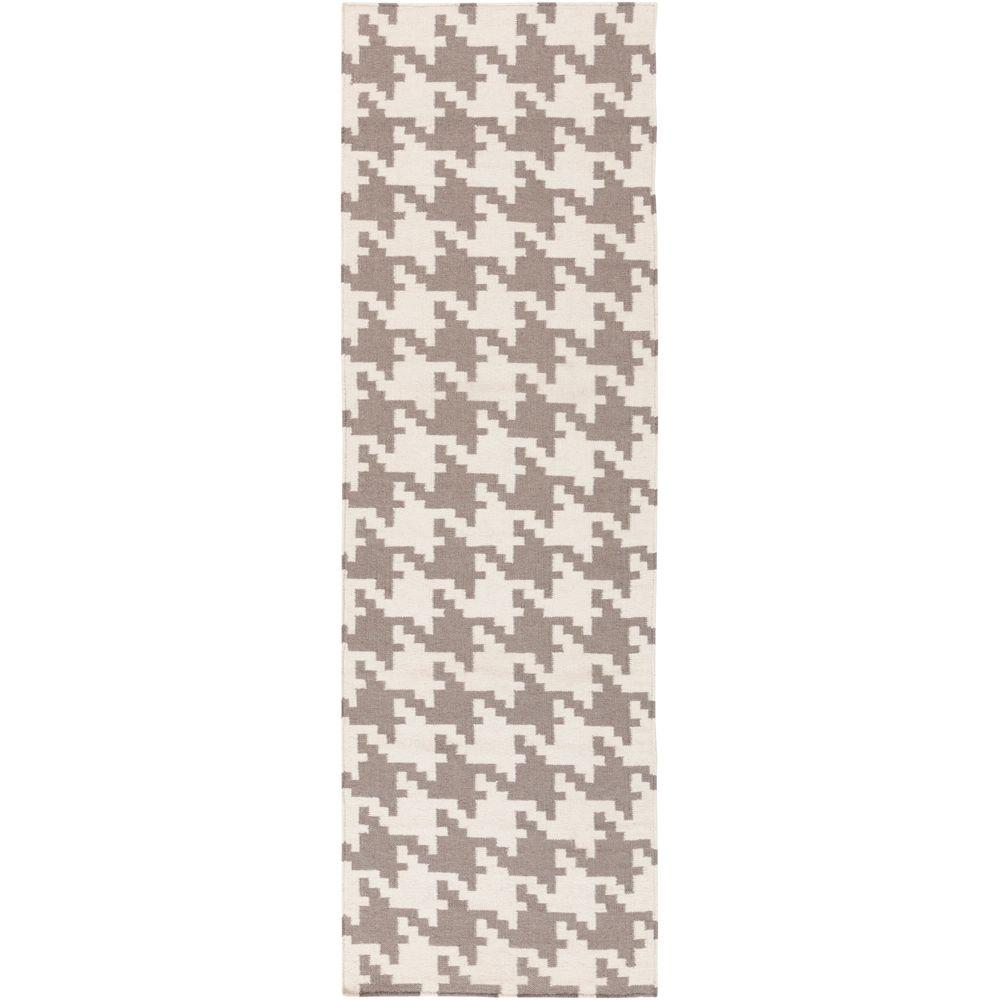 Annu Ivory 2 ft. 6 in. x 8 ft. Flatweave Runner