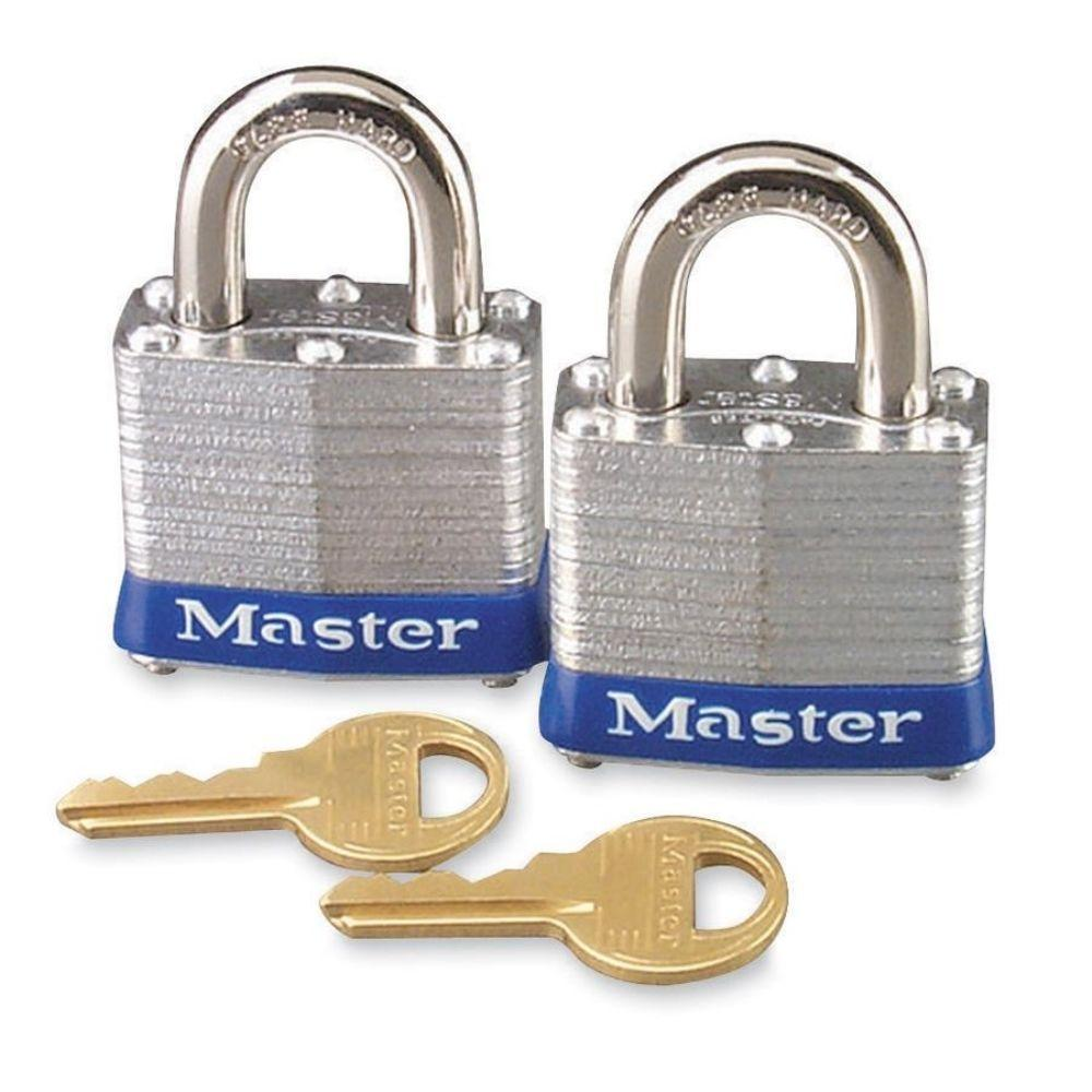 High Security Keyed Padlock (2-Pack)