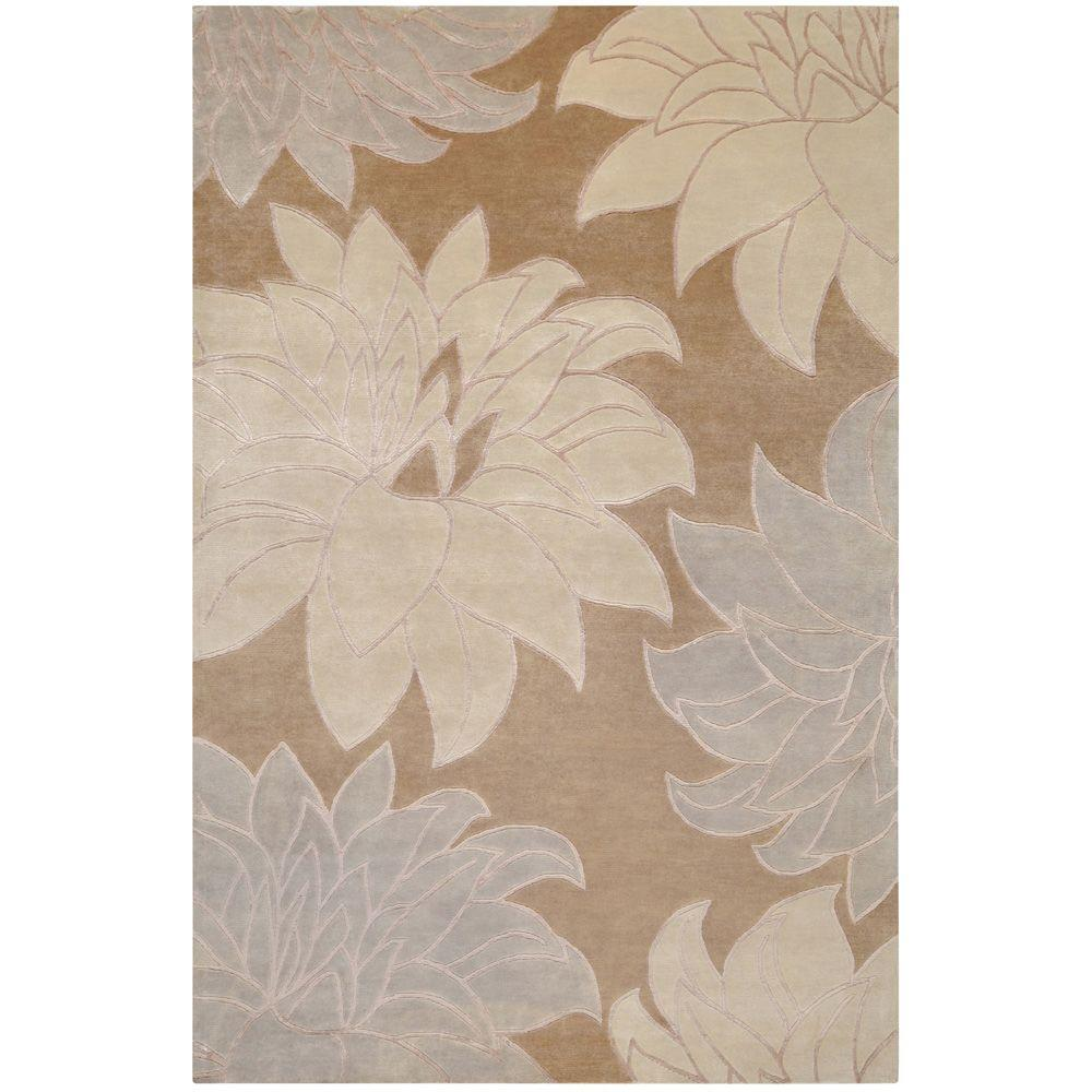 Cuneo Taupe 5 ft. x 8 ft. Area Rug