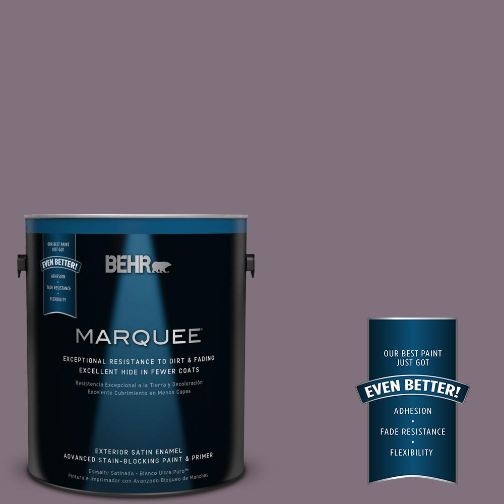 1-gal. #690F-6 Wine Frost Satin Enamel Exterior Paint