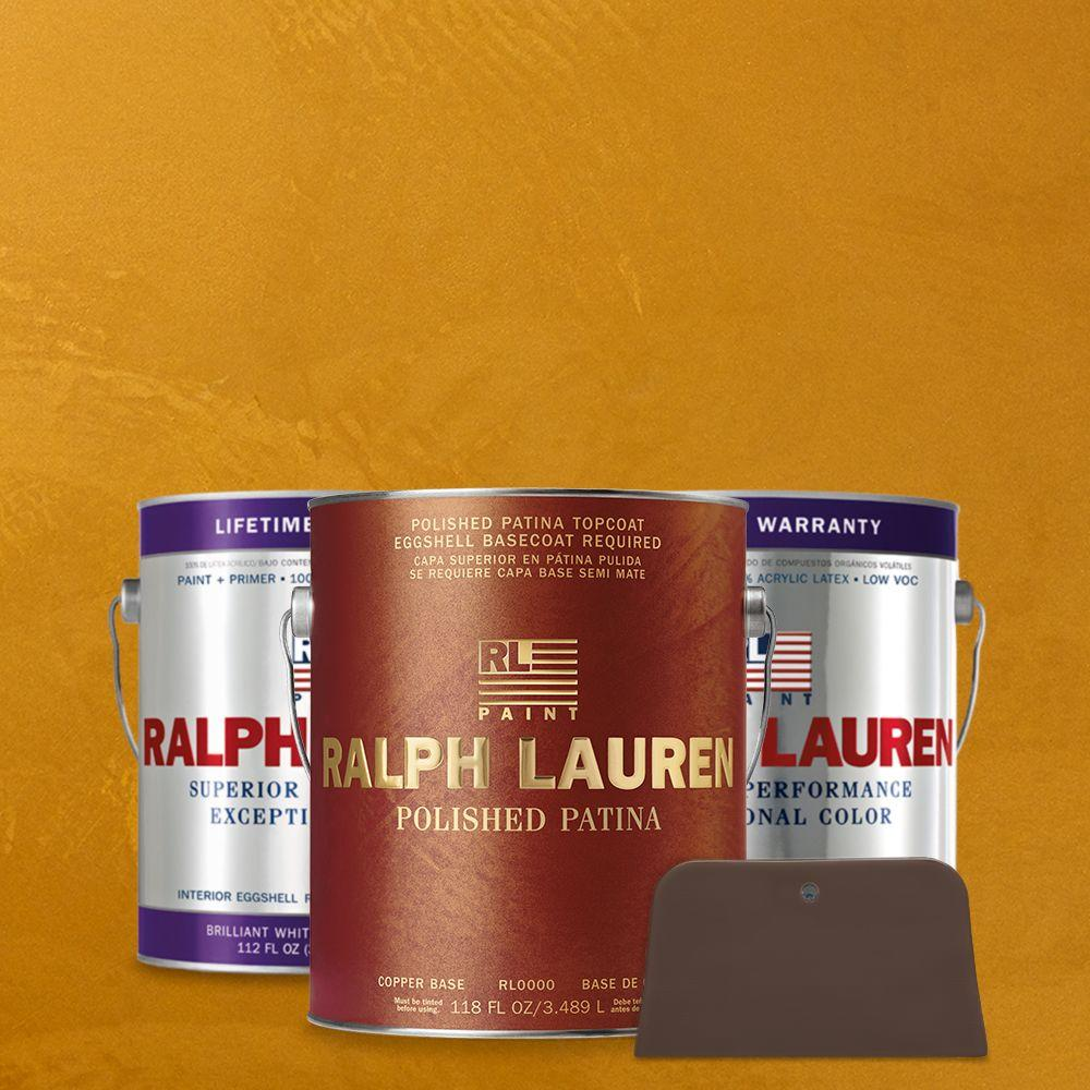 Ralph Lauren 1 gal. Golden Agate Copper Polished Patina Interior Specialty