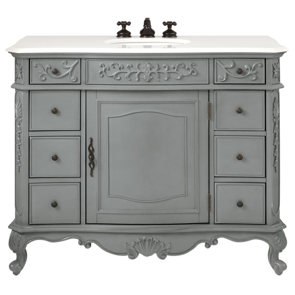 home decorators collection winslow 45 in w vanity in