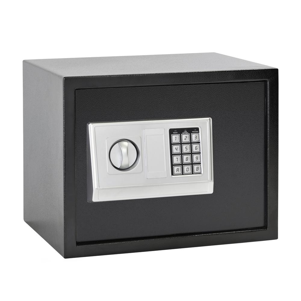 Buddy 1.21 cu. ft. Steel Large Home Safe with Electronic Lock,