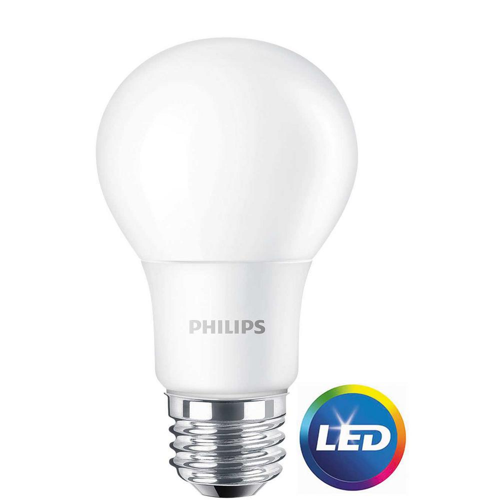 philips 60w equivalent daylight a19 non dimmable led light. Black Bedroom Furniture Sets. Home Design Ideas