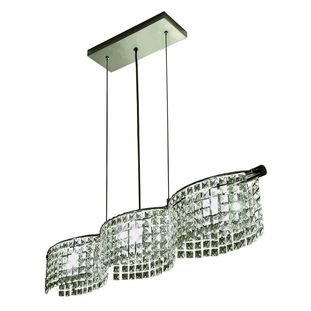 BAZZ Glam Helix Collection 3-Light Hanging Pendant -Discontinued