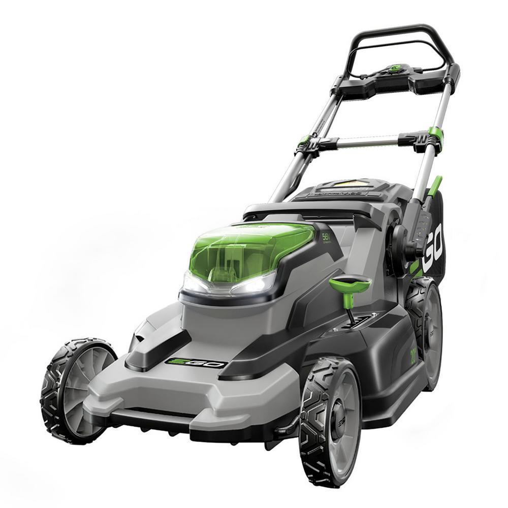 20 in. 56 Volt Lithium ion Cordless Push Mower with 5.0Ah