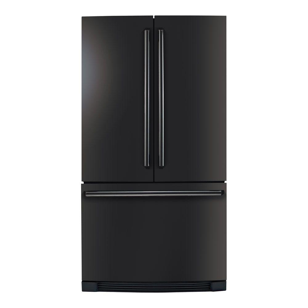 Electrolux IQ-Touch 22.5 cu. ft. French Door Refrigerator in Black, Counter Depth