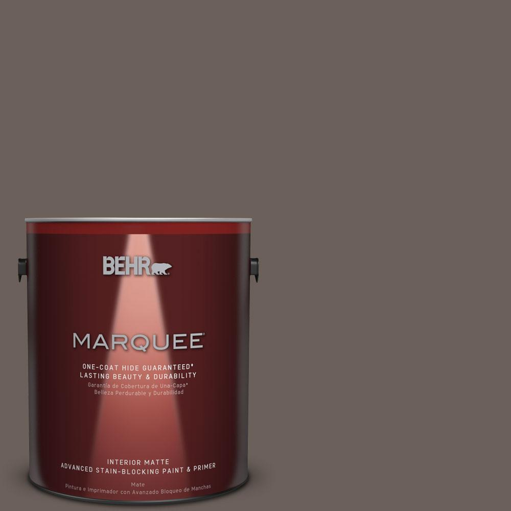 1 gal. #T11-8 Back Stage Matte Interior Paint
