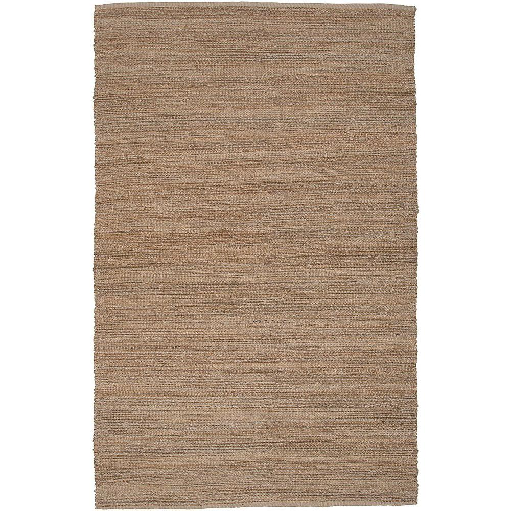 LR Resources Natural Fiber Sonora Sahara 9 ft. x 12 ft. Eco-friendly Indoor Area Rug