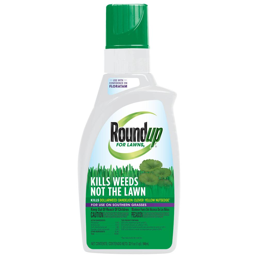 Roundup for Lawns 5 Concentrate 32 oz. (Southern)