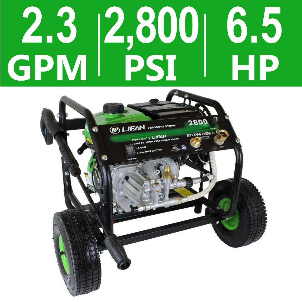 Pressure Storm Series 2,800 psi 2.3 GPM AR Axial Cam Pump