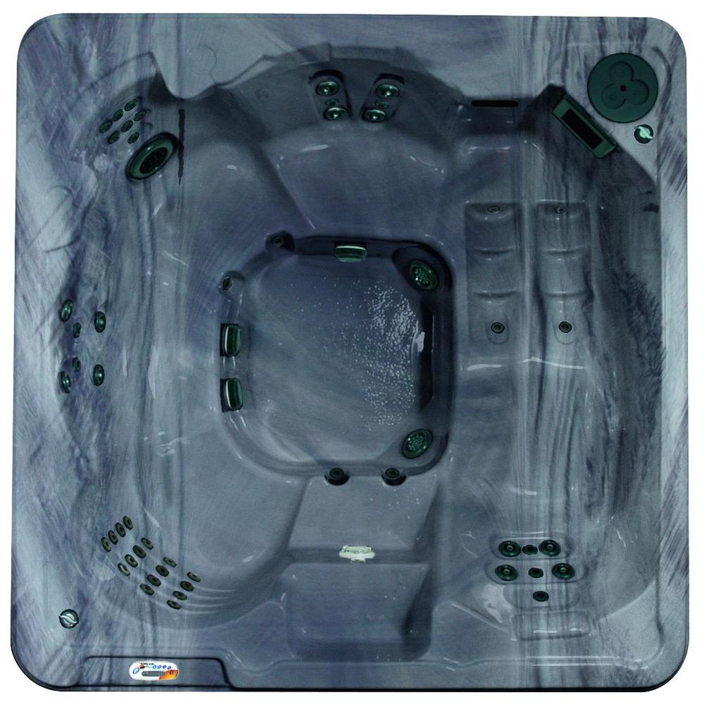 Cantania 6-Person 70-Jet Spa with Bromine System, LED Light, Polar Insulation,