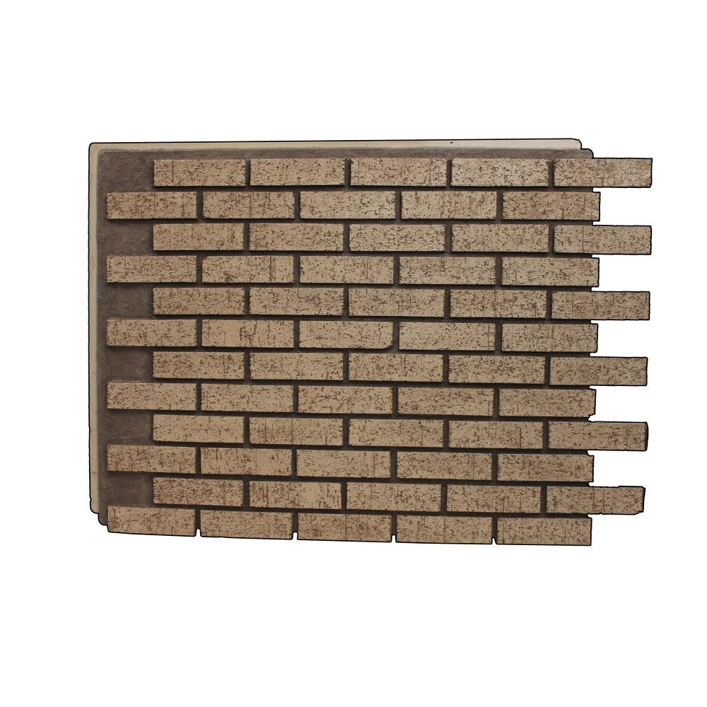 Superior Building Supplies Brown Stone 32 7 8 In X 46 In