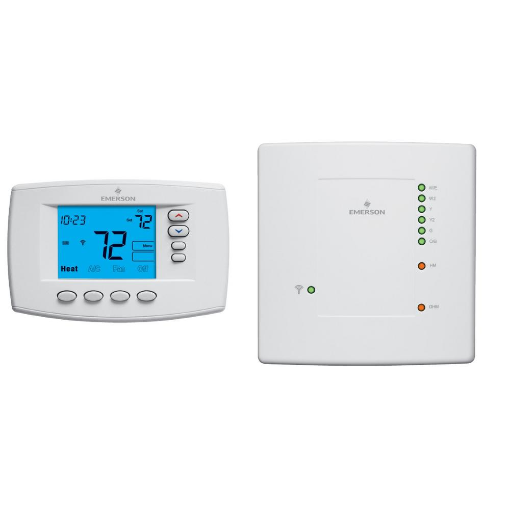 Blue Universal 7-Day Programmable Thermostat, Wireless