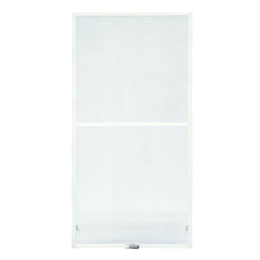 TruScene 31-7/8 in. x 54-27/32 in. White Double-Hung Insect Screen
