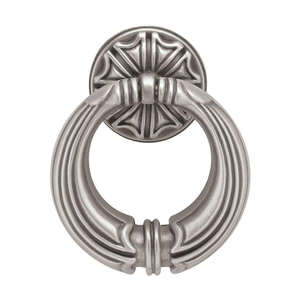 French Romantics 2 in. (51mm) Brushed Satin Pewter French Huit Ring