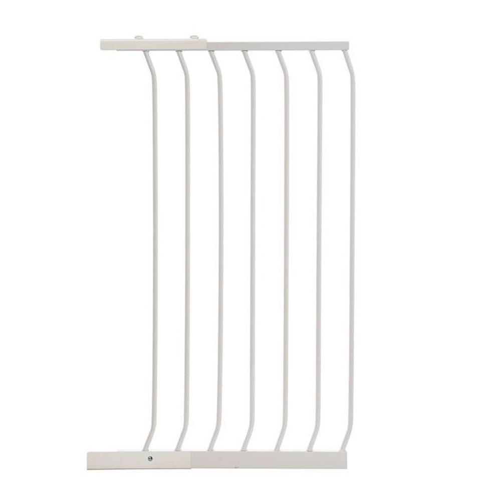 21 in. Gate Extension for White Chelsea Extra Tall Child Safety