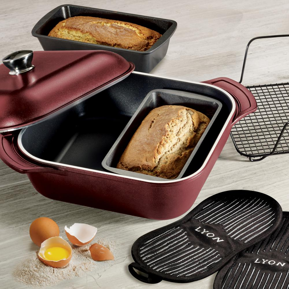 Limited Editions LYON 7-Piece Multi-Cooking System in Garnet