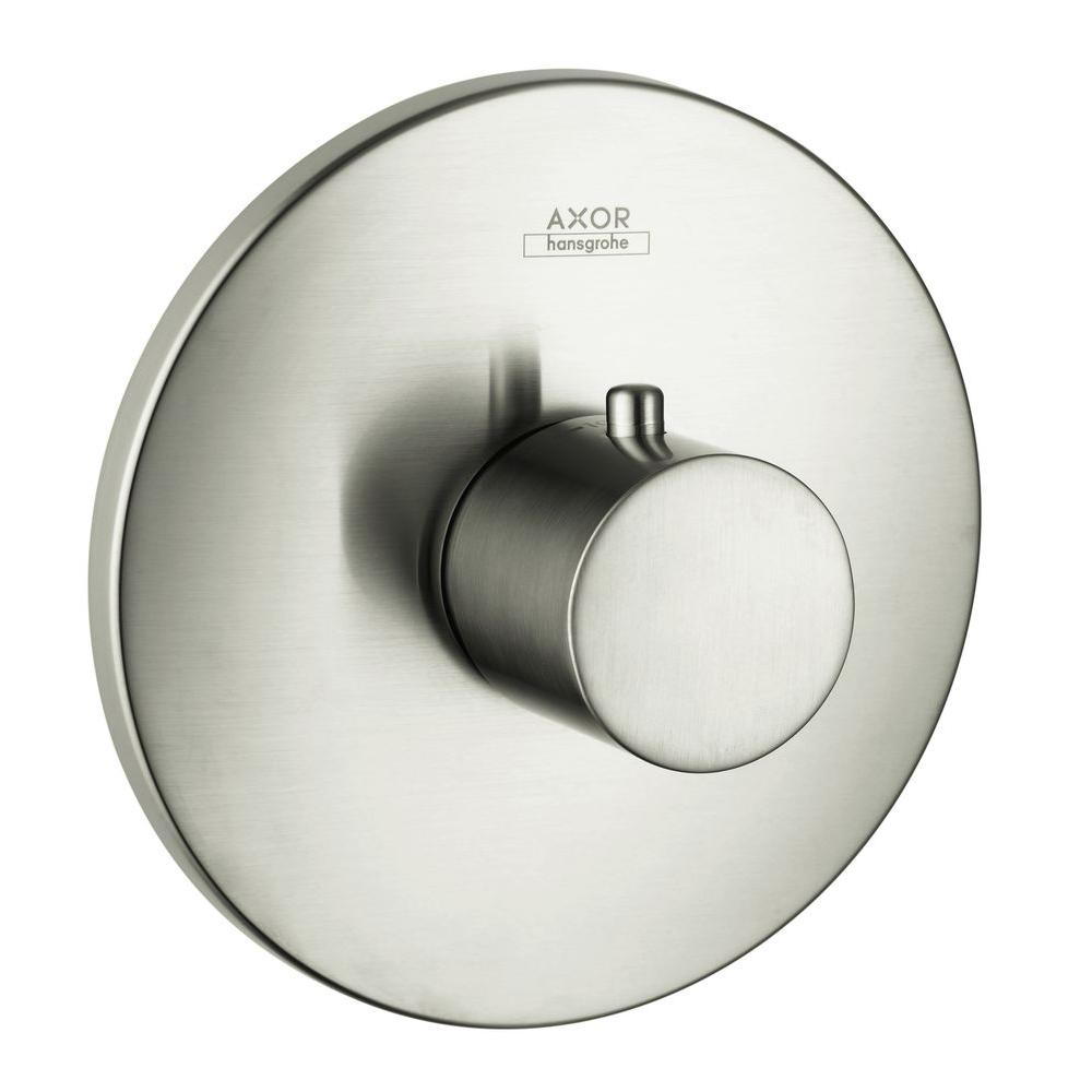 Hansgrohe Axor Uno 1-Handle Valve Trim Kit in Brushed Nickel (Valve Not Included)