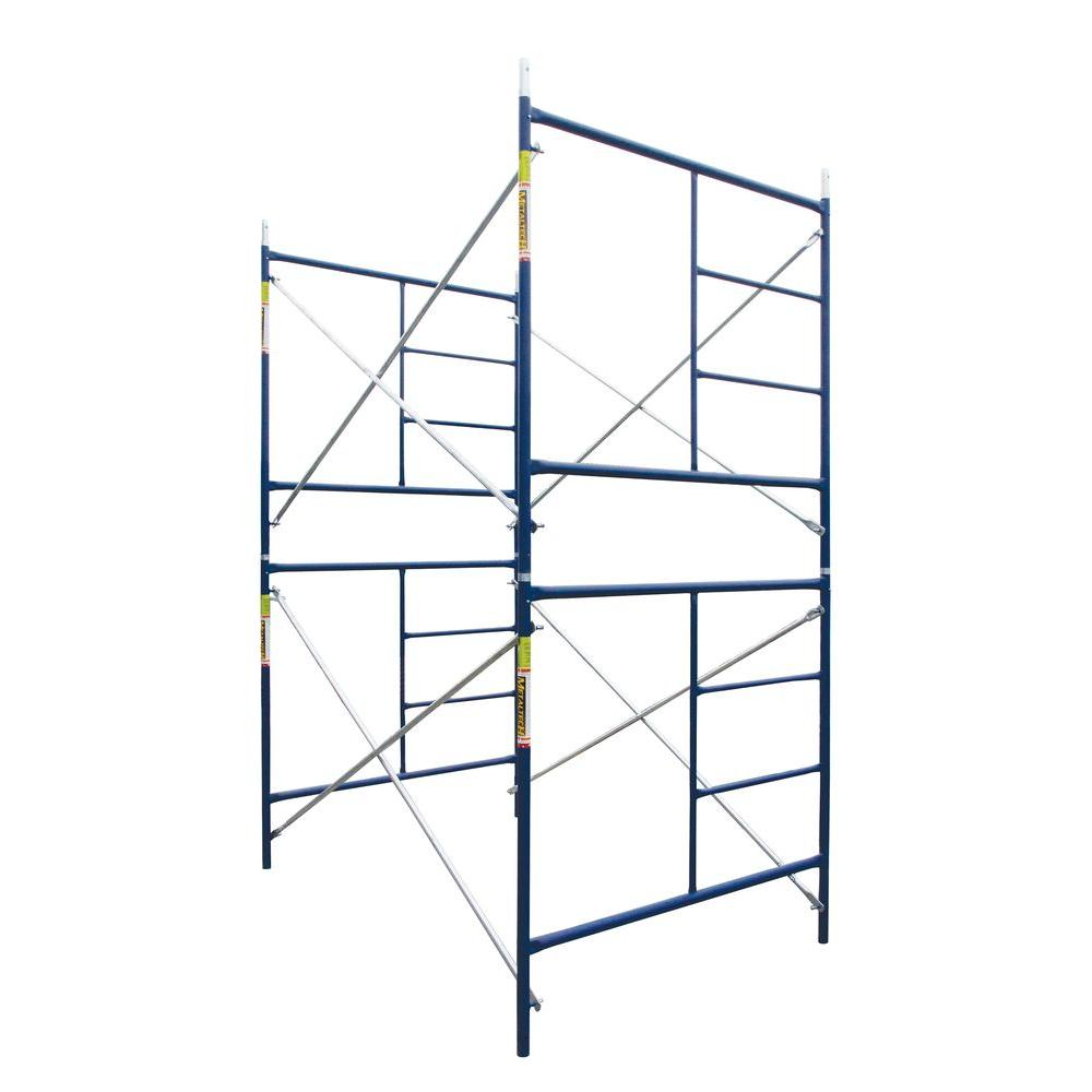 Saferstack 10 ft. x 10 ft. x 5 ft. Scaffold Double