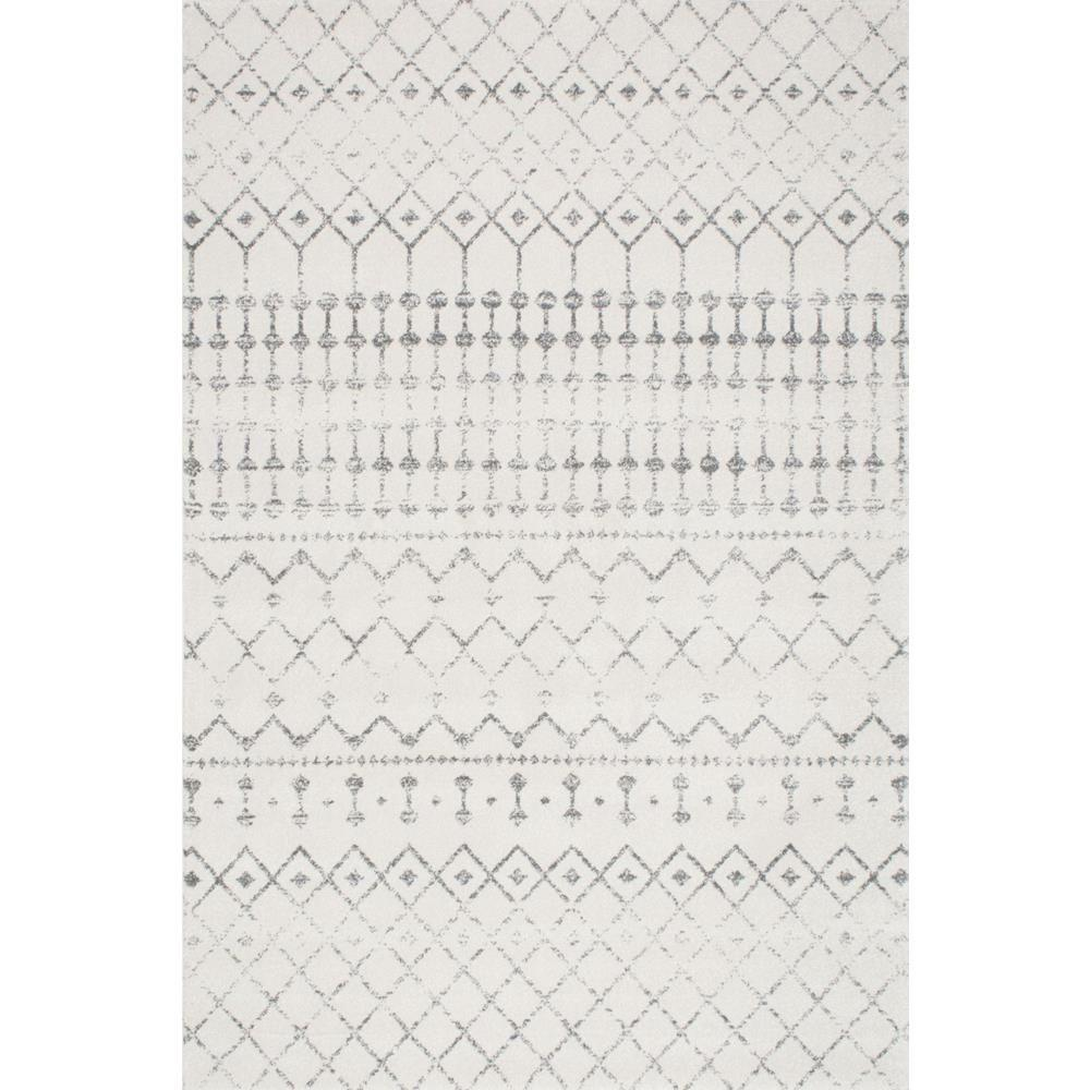 Nuloom blythe grey 9 ft x 12 ft area rug rzbd16a 9012 for 7 x 9 dining room rugs