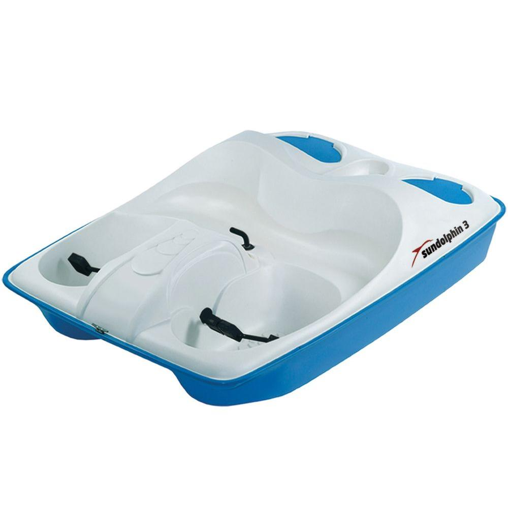 Sun Dolphin 3-Person Pedal Boat