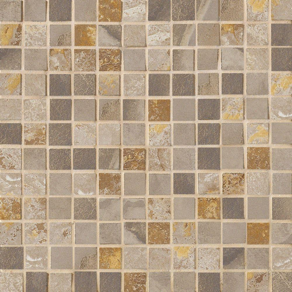 Jade 13 in. x 13 in. x 8-1/2 mm Taupe Porcelain
