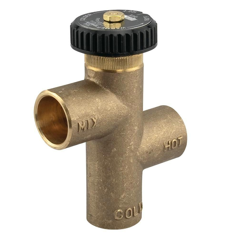 3/4 in. Lead-Free Brass Hot Water Extender Tempering Valve-3/4 LF70A -