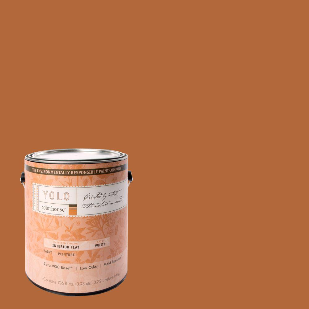 YOLO Colorhouse 1-gal. Wood .02 Flat Interior Paint-DISCONTINUED