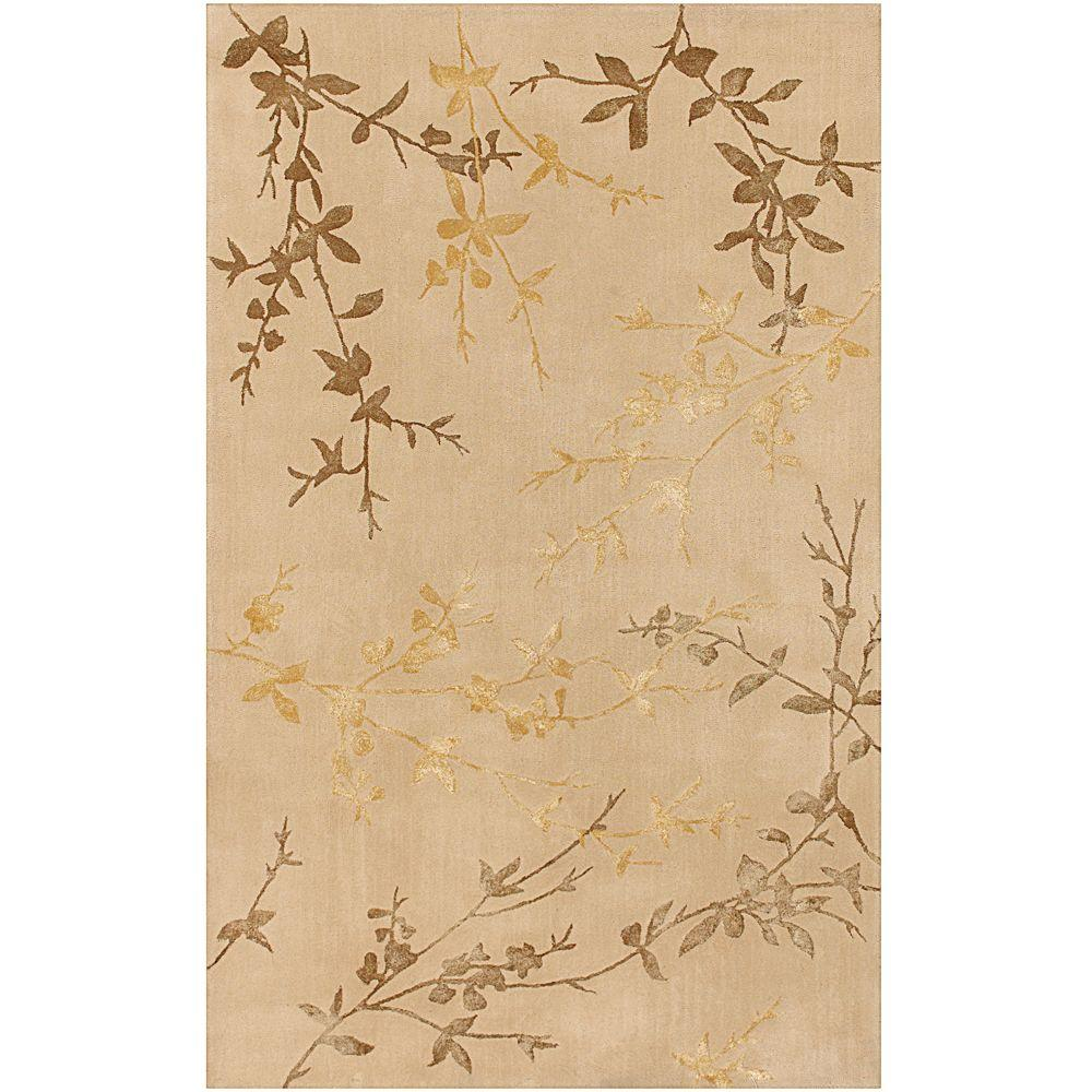 Chaparral Beige 8 ft. x 11 ft. Area Rug