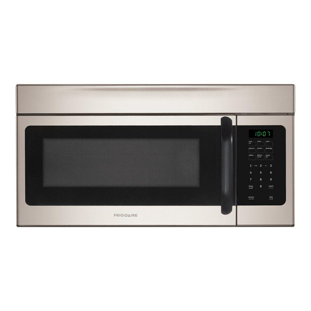 Frigidaire 30 in. W 1.6 cu. ft. Over the Range Microwave in Stainless Steel