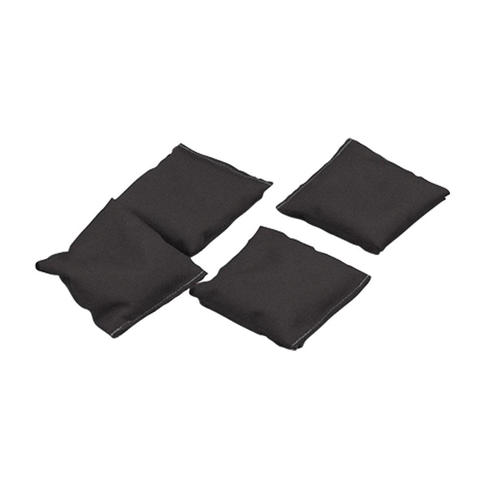 Black Bean Bags (Set of 4)