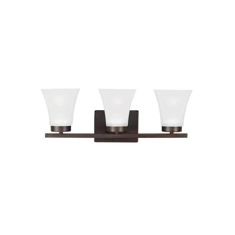 Bayfield 3-Light Burnt Sienna Wall Sconce