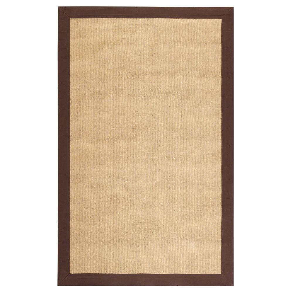 Home Decorators Collection Cove Brown 7 ft. x 9 ft. Area