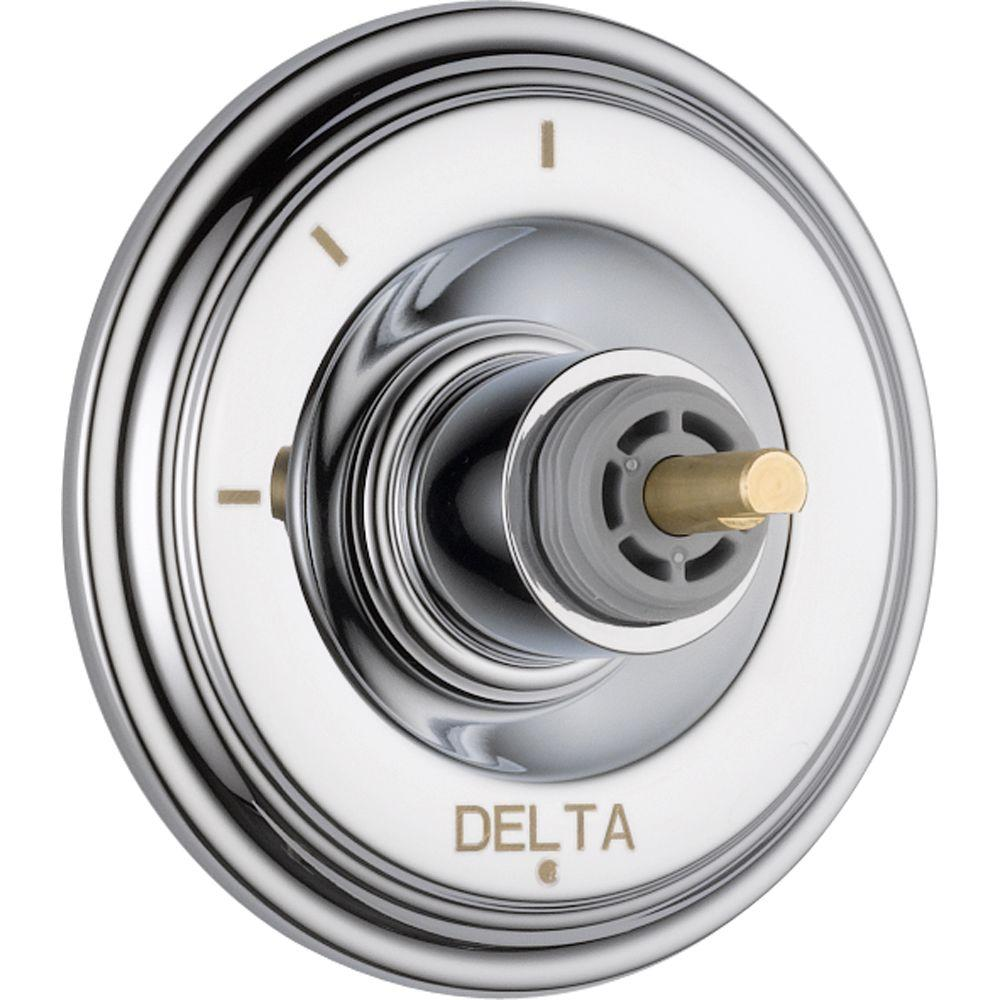 Delta Cassidy 3-Function Diverter Trim Kit Only in Chrome (Valve and
