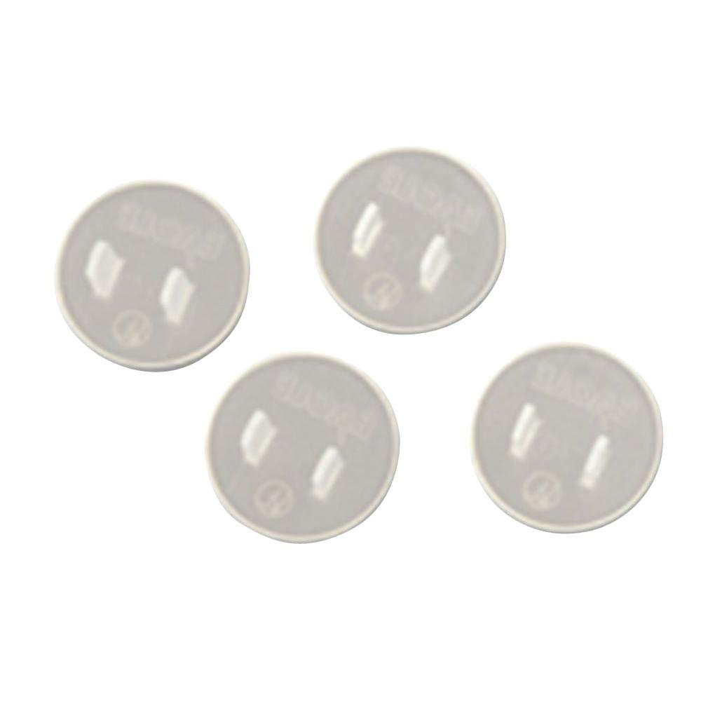 Amerelle Safety Caps Clear (8-Pack)