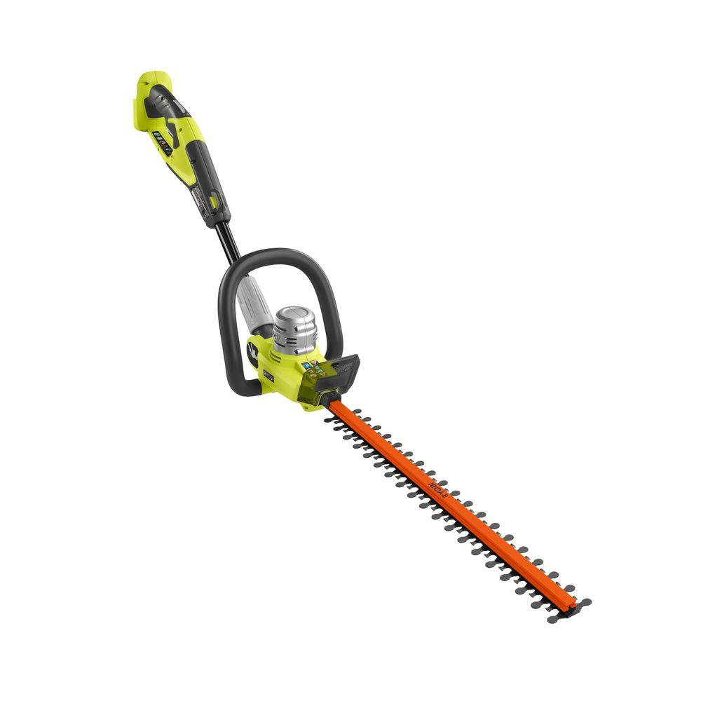 Ryobi 20 in. 24-Volt Cordless Electric Hedge Trimmer - Battery and Charger Not Included-DISCONTINUED