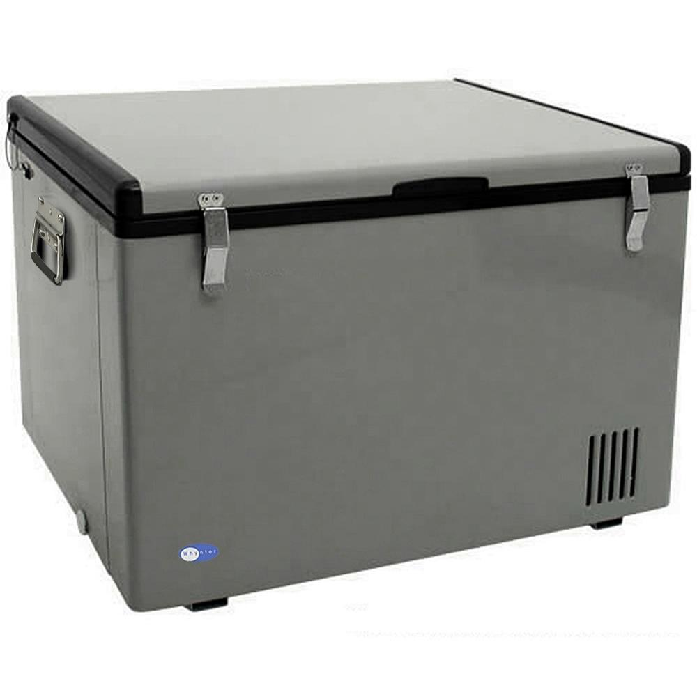 Whynter 2.5 cu. ft. Portable Freezer, Gray