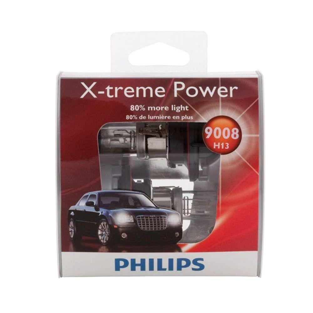 Philips XtremePower 9008/H13 Headlight Bulb (2-Pack)