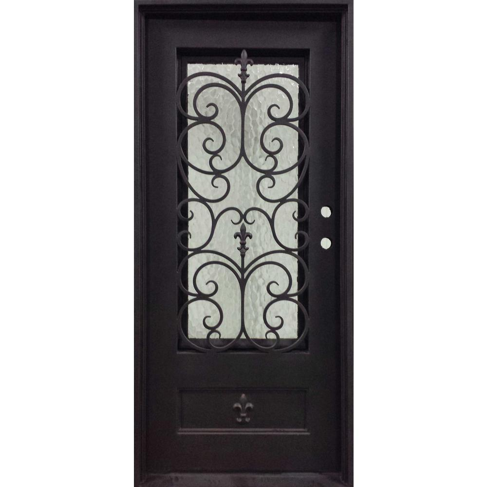 Iron Doors Unlimited 37.5 in. x 81.5 in. Orleans Classic 3/4
