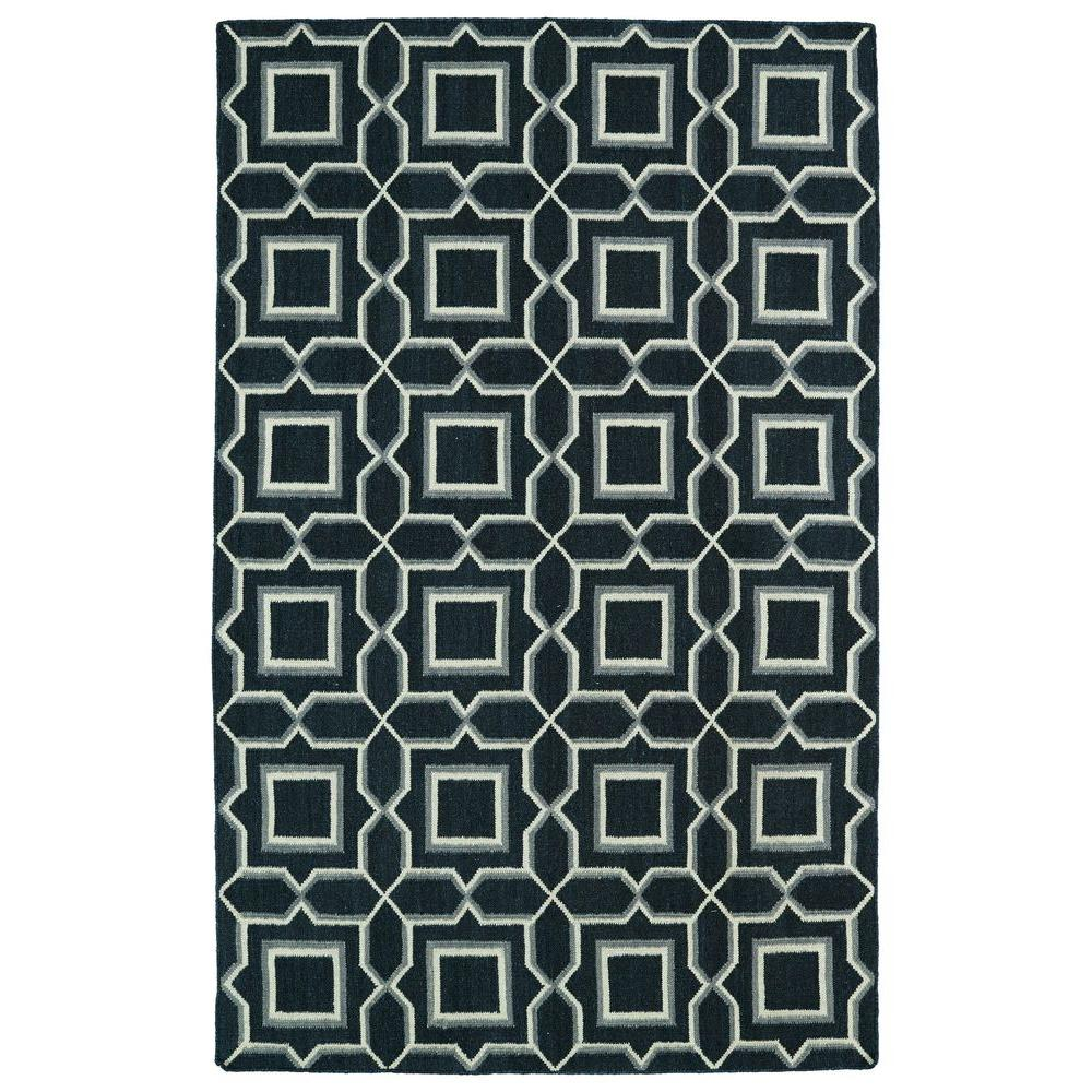 Glam Charcoal 9 ft. x 12 ft. Area Rug