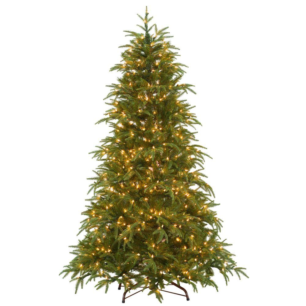 Real Or Fake Christmas Tree: National Tree Company 6.5 Ft. Feel-Real North Frasier