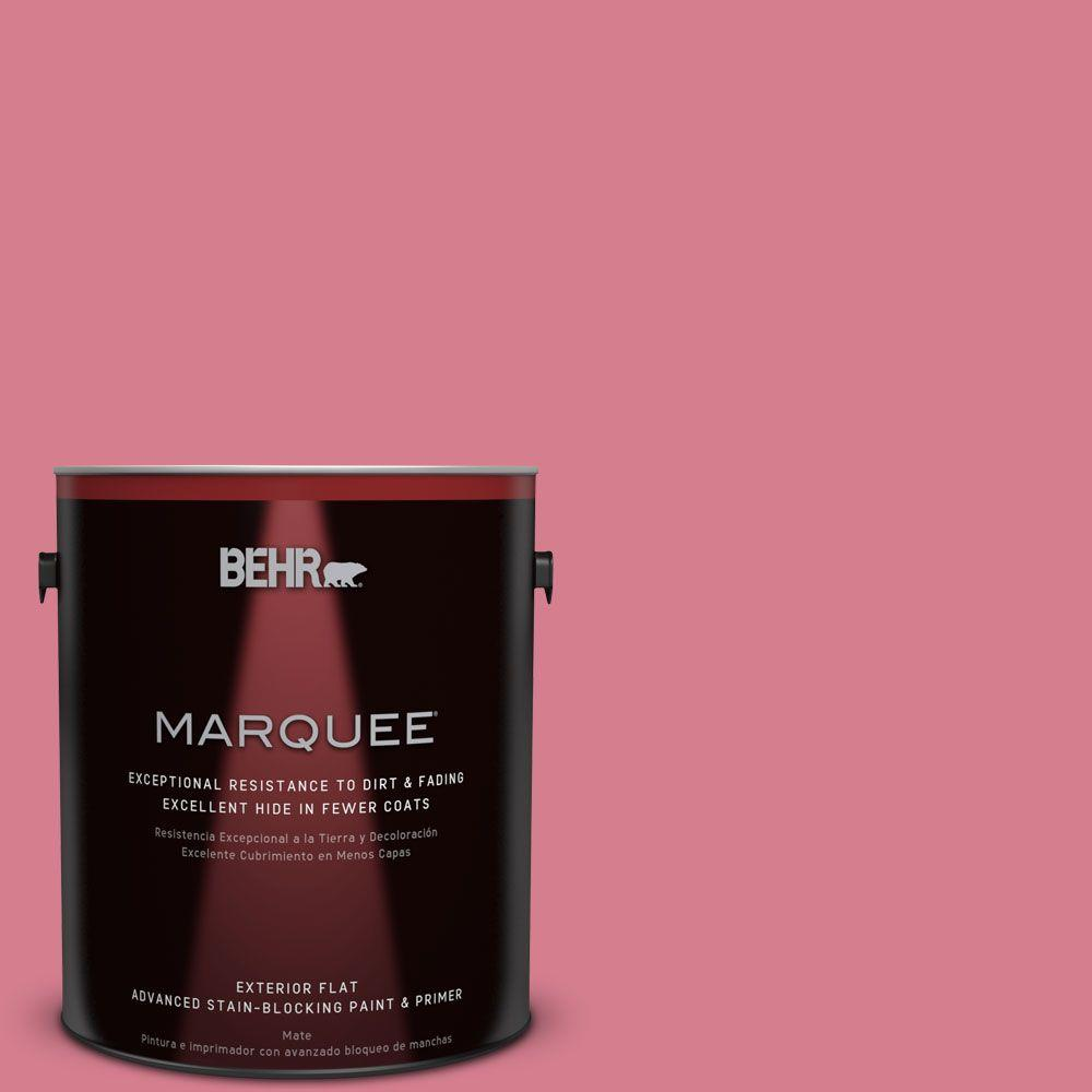 1-gal. #P140-4 I Pink I Can Flat Exterior Paint