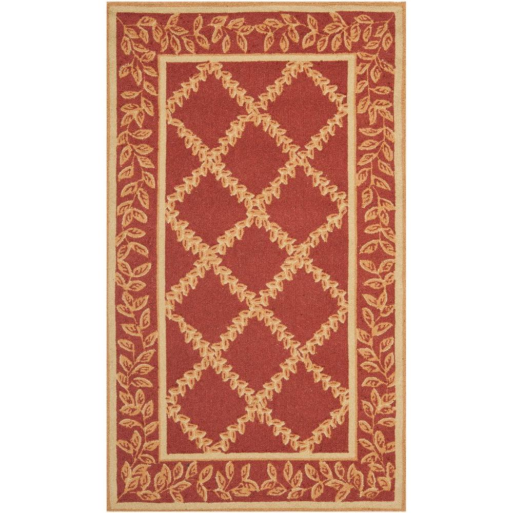 Safavieh Chelsea Rust/Gold 3 ft. 9 in. x 5 ft. 9 in. Area Rug