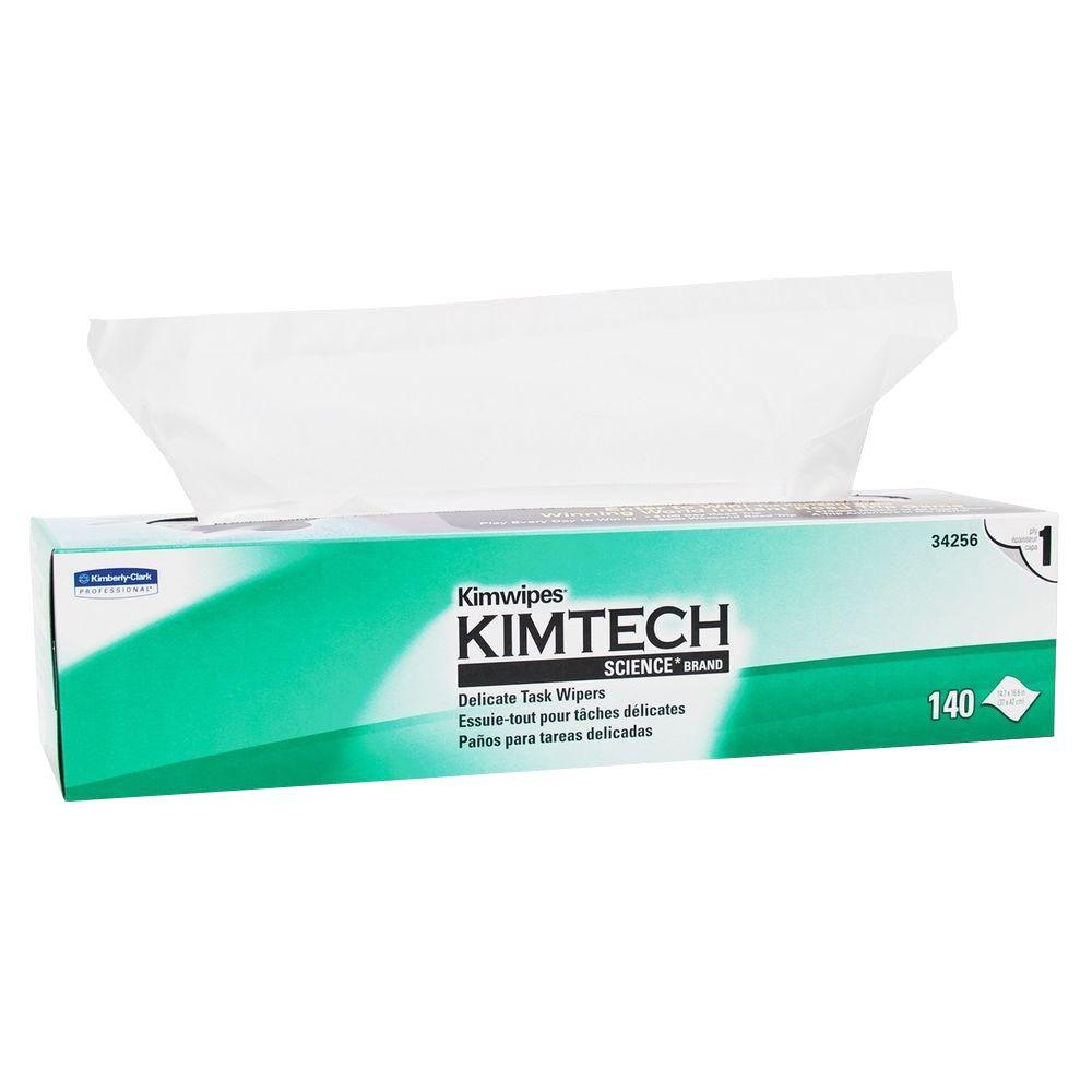 Science Kimwipes Delicate Task Wipers (140-Box)